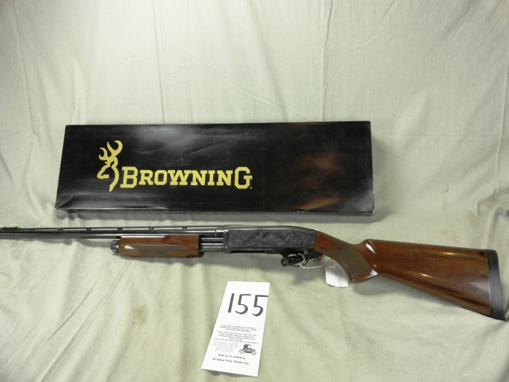 "Browning BPS 12-Ga., 3"" Pump, (4 Chokes), 28"" Bbl., Like New, SN:22968NX152"