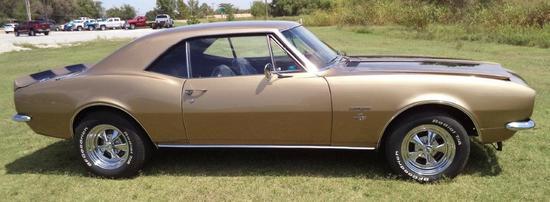 1967 Chevrolet Camaro S S (Clone) - VIN ANNOUNCEMENT