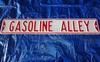 """Gasoline Alley Street Sign, 3' x 6"""""""