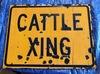 """Cattle Crossing Board, 2' x 18"""""""