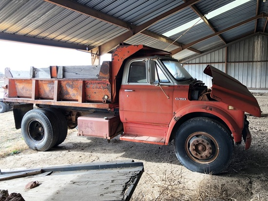 1969 Chevy C50 Sand Truck, VIN:CE539P849627, As Is