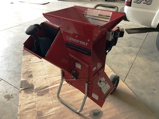 Troy Bilt Super Tomahawk 47266 Chipper w/8HP I/C Motor