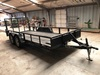 2005 Trailmaster 6' x 16' Dual Axle Trailer w/Ramp, VIN:35371