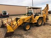JCB 3D III Backhoe w/Side Shift, 8' Bucket, Front Pallet Forks, 836 Hrs., SN:13767675