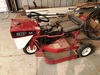 "Ride King 32"", 2-Sp., Front Wheel Mower, 8HP Briggs & Stratton"