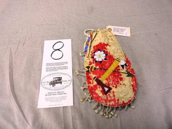 Sioux War Medicine Bag (War Scene)