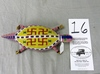 Large Beaded Turtle Fetish (Sioux)
