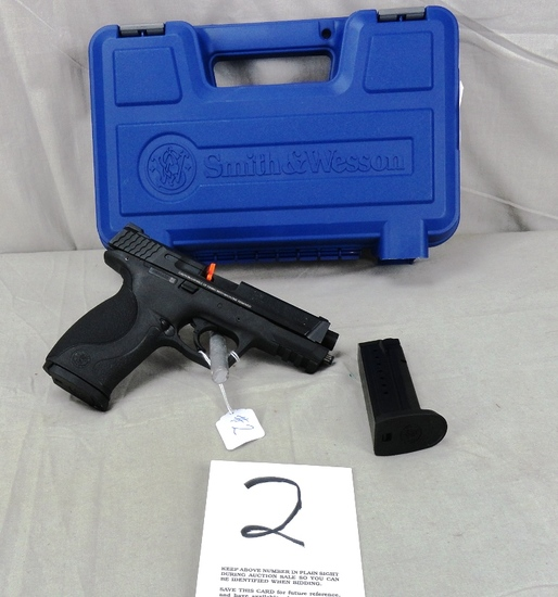 S&W M&P 9 Shield, 9mm Pistol, SN:HXX4400, NIB (Handgun)