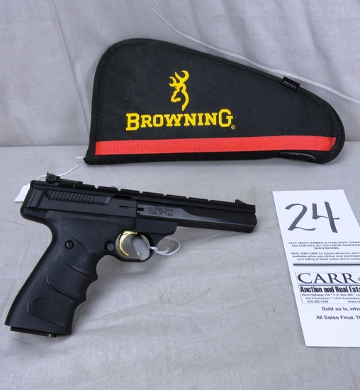 Browning Buck Mark 22 LR Pistol, SN:515ZW23845 New w/Browning Soft Case (Handgun)