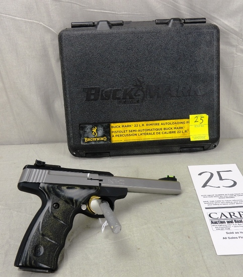 Browning Buck Mark 22 LR Pistol,  SN:515ZW21468, NIB (Handgun)