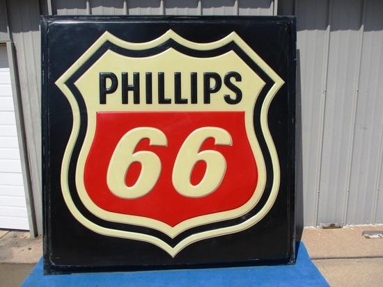 Phillips 66 Plastic Sign Insert - (LARGE)