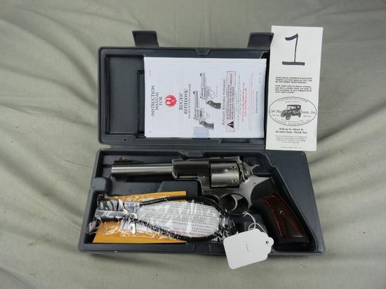 Ruger Super Red Hawk 10mm, Stainless Model 0524, SN:552-95995, NIB (Handgun)