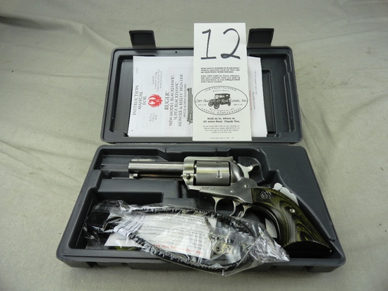 Ruger Super Black Hawk 44 Rem Mag, Stainless, M.00817, SN:88-93708, NIB (Handgun)