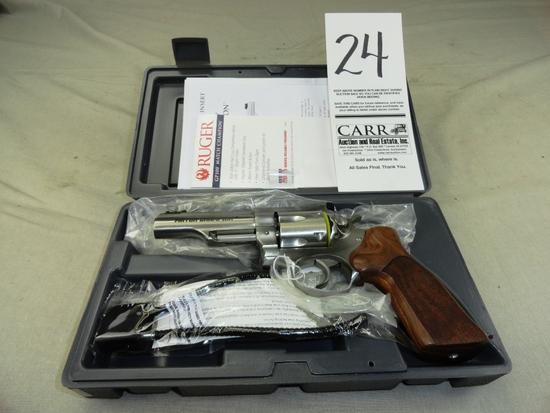 Ruger GP100 Match Champion 10mm Auto, Stainless, M.01775, SN:178-69042, NIB (Handgun)