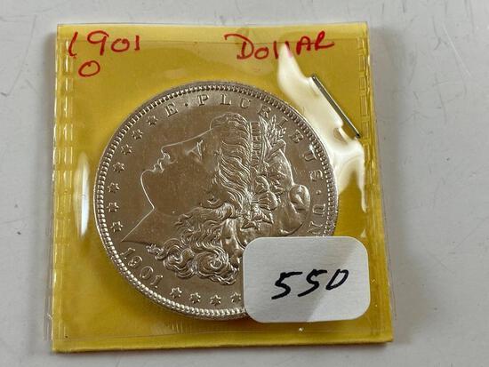 1910O Morgan Silver Dollar UNC