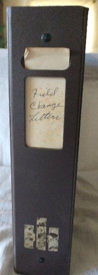 Field Change Letters 1983-1984