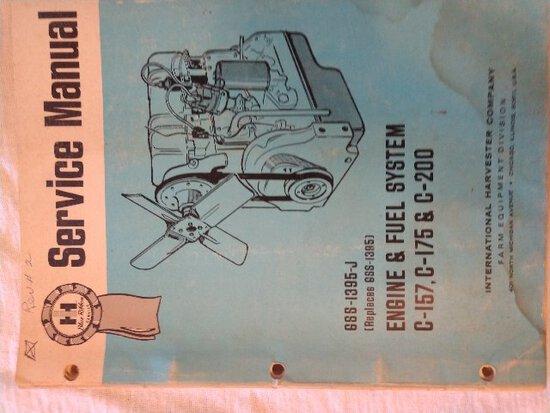 Service Manual Engine & Fuel System C-157, C-175 & C-200