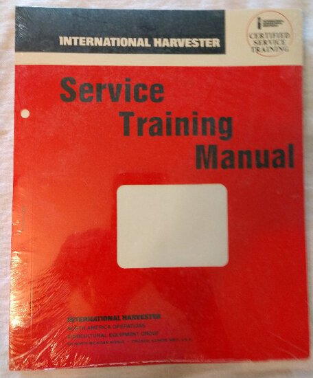 Service Training Manual Covers - NIP, approximately 20 ea.
