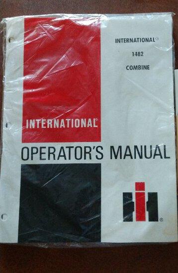 International 1482 Combine Operators Manual