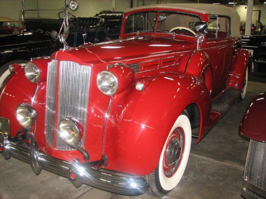 1938 Packard Super 12 Victoria Club Convertible Coupe