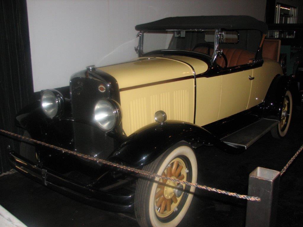 1929 DeSoto 6 Rumble Seat Roadster