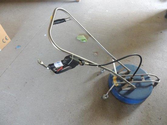 Floor washing tool