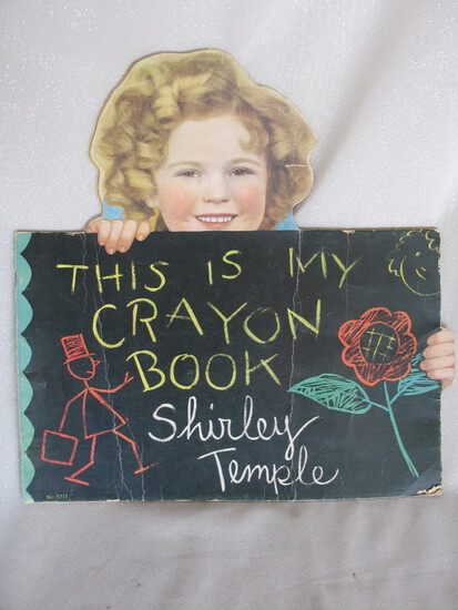 Mixed Shirley Temple Collectibles:- 1930s Saalfield VG books PLRG / Now I a