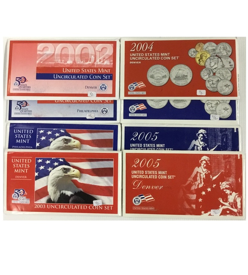 4x US Mint Sets