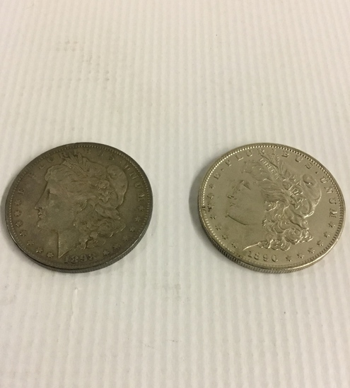 2x US Morgan Dollars