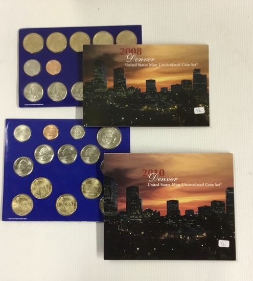 2x US Mint Sets