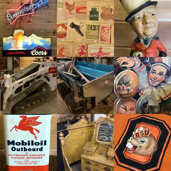 Huge PNW Farm Antiques and Tool Auction