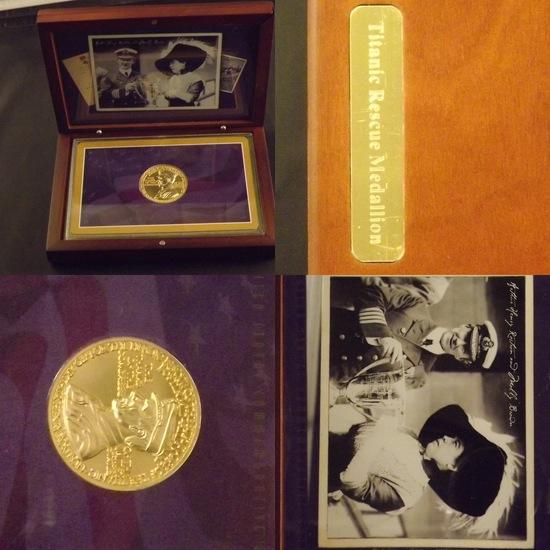 Titanic Rescue Medal