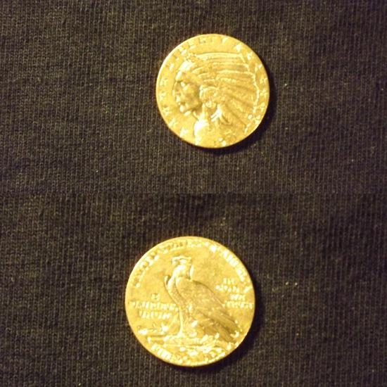 1911 Phil U.S FIVE dollar Gold Coin