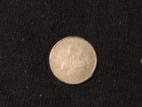 1853 PHIL 3 CENT SILVER COIN