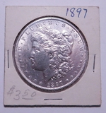 1897 PHIL MORGAN ABOUT UNCIRCULATED
