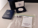 AMERICAN EAGLE ONE DOLLAR PROOF, SILVER BULLION COIN 2003
