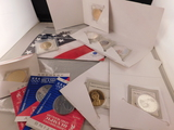 3 X OLYMPIC SPORTS MEDALLIONS, AMERICAN MINT 8X MEDALLIONS