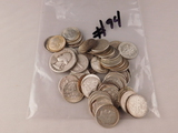 COIN LOT WITH 90 PERCENT SILVER