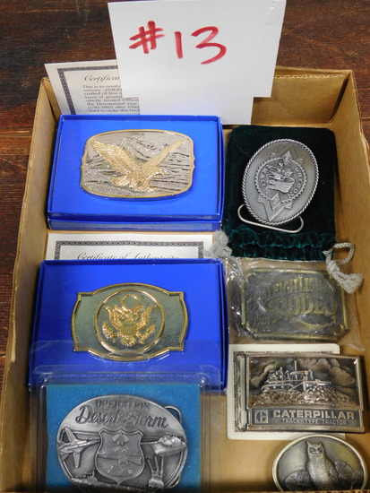 Belt Buckle Lot