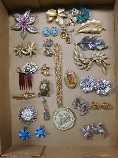Vintage Jewelry Box Lot