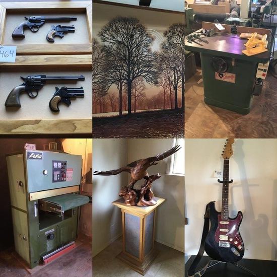 Cabinet Shop, Musician and Mechanics Estate