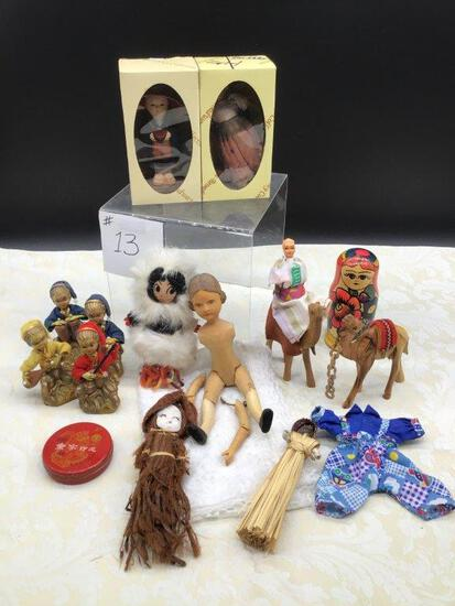 COLLECTION OF VARIOUS DOLLS