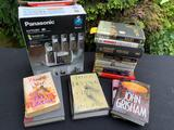 CORDLESS PHONES, DANIELLE STEEL BOOKS AND MORE