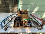 WOODWORKING TOOLS AND SAWS