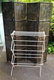 ORNATE ROOM DIVIDER SCREEN AND DRYING RACK