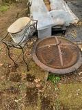 FIREPIT, PLANT STAND AND TUB