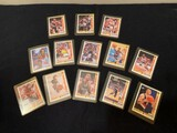 COLLECTABLE BASKETBALL CARDS IN SLEEVES