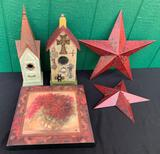 CHURCH BIRDHOUSES AND MORE