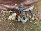 GARDEN DÉCOR, CANDLE HOLDERS AND MORE