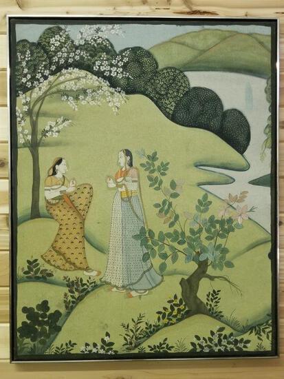 INDIA INSPIRED FRAMED ART